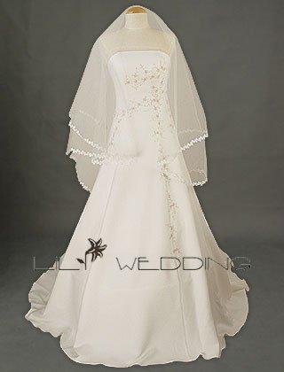 Discount Wedding Dress - Style LWD0002