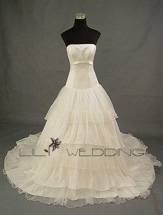 Affordable Wedding Dress - Style LWD0012