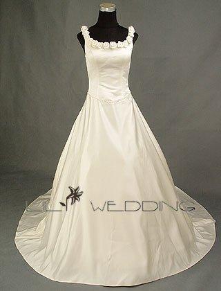 A Line Wedding Dress - Style LWD0017