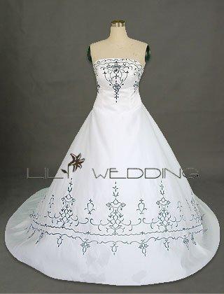 Bridal Dress In Satin - Style LWD0023