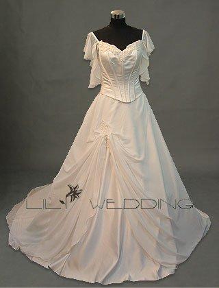 White Bridal Dress - Style LWD0028