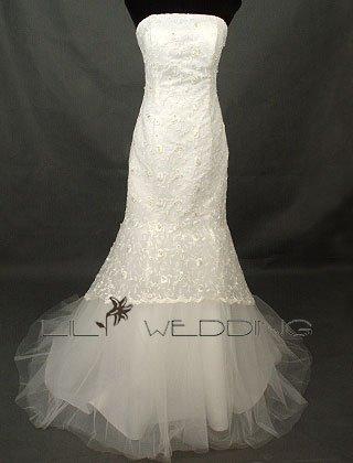 Bridal Wedding Dress - Style LWD0031