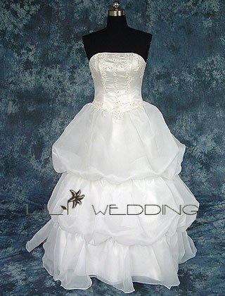 Affordable Wedding Gown - Style LWD0033
