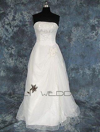 Beach Wedding Gown - Style LWD0040