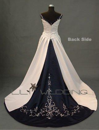 Strapless Wedding Gown - Style LWD0048