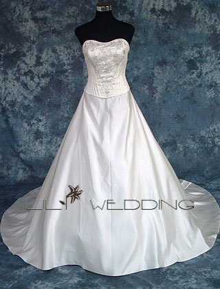 Sweetheart Princess Bridal Gown - Style LWD0099