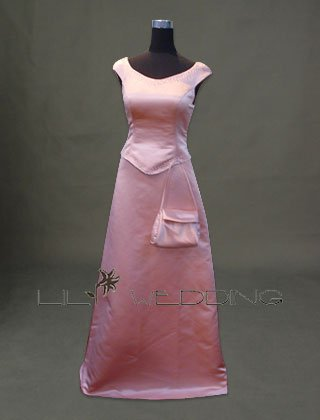 Discount Bridesmaid Dress Modest Bridesmaid Dress - Style LED001