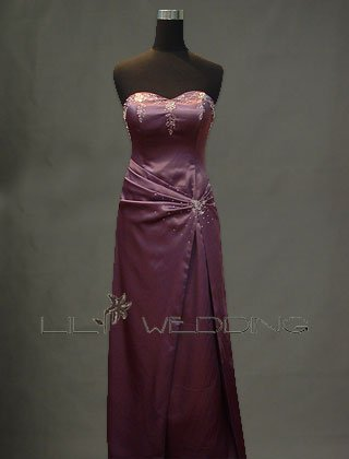 Purple Discount Bridesmaid Dress - Style LED0022