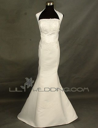 Floral Pattern Mermaid Wedding Dress - Style LWD0119