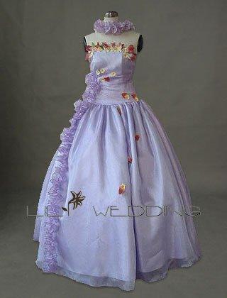Flowers Bridesmaid Dress - Style LED0043