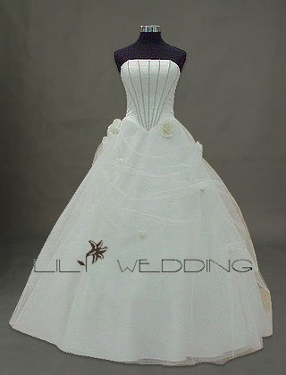 Tulle Ball Gown Bridal Dress - Style LWD0130