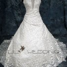 Halter A-Line Wedding Gown - Style LWD0148