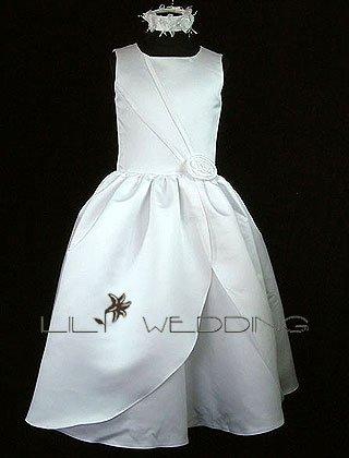 Inexpensive Flower Girl Dress - Style LFG0008