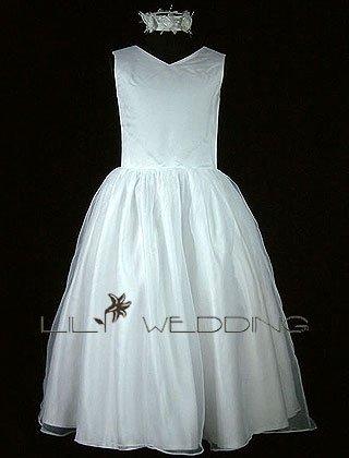 Vintage Flower Girl Dress - Style LFG0015