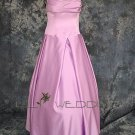 Satin Bridesmaid Dress - Style LED0045