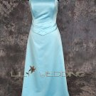 Strapless Satin Bodice Bridesmaid Dress - Style LED0047