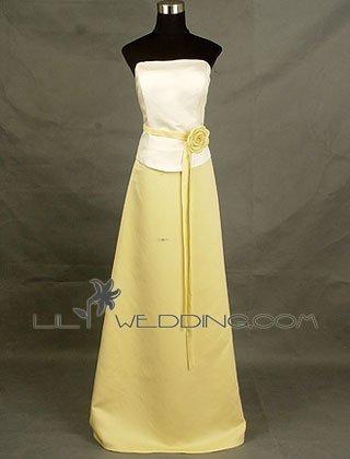 Floor Length Bridesmaid Dress Online - Style LED0056