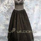 Black Bridesmaid Dress - Style LED0060