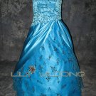 Satin And Tulle Bridesmaid Dresses - Style LED0062