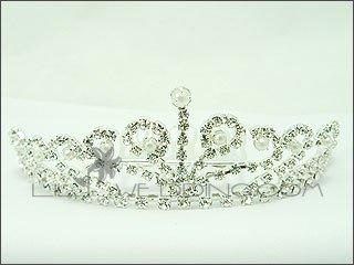 Royalty Faux Pearl Tiara