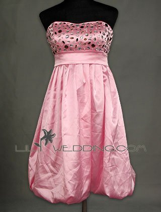 Tea Length Discount Prom Dress - Style LED0100