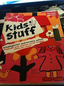 Kids Stuff Kindergarten & Nursery School Crafts, etc. Book