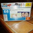 HP PHOTO CARDS VALUE PACK..CD & 40 CARDS & ENVELOPES no ink