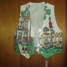 Handmade Birdhouses, Houses, Kitten Fully Lined Vest, Size Large
