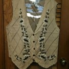 Beautiful Jantzen Sweater Vest Size Large