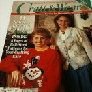 4 Crafting Magazines--Crafting Traditions, Craft & Wear, Needlework & Crafts