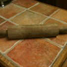 Hand Made Homemade Wooden Vintage Rolling Pin Dough Roller (Over 100 years old ?