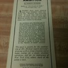 Vintage Frederick A Stokes CO Ad/Bookmark-R Hichens, H Willsie (1920's)