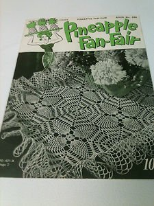 Vintage (1950) Clarks Pineapple Fan-Fair Book No. 266 FREE SHIPPING