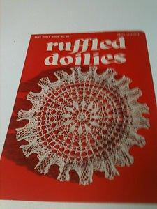 "Vintage Ruffled Doilies - Star Doily Book NO. 95 - (1952) - ""Piece of Americana"