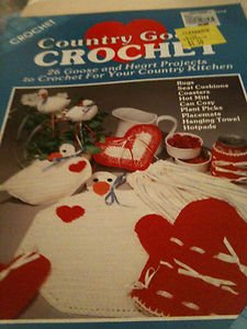 Lot of two (2) Crochet Magazines - Crochet! & Country Good Crochet