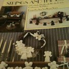 Lot of two (2)  Books - Stitch a Gift & Strings and Things