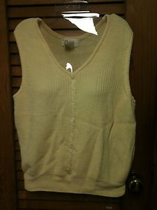 Ladies Womens Pullover V-Necked Sweater Vest by Choice Size L (Several Colors)