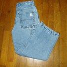 Boys OLD NAVY Painters Blue Jeans 10 Husky EUC