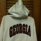 Ladies GEORGIA Zip Front Sweatshirt Hoodie Jacket - Size Large