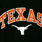 Mens Texas Longhorn Long Sleeve Black T-Shirt - Size Small - NWT