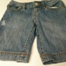 Girls Old Navy Denim 5 Pocket Shorts - Size 8 - Distressed Look