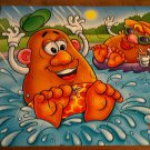 MB Mr Potato Head Puzzle - 1998 - Cardboard Puzzle
