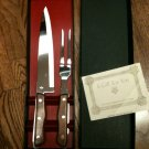 Maxim Surgical Steel Carving Knife & Serving Fork /Dishwasher Safe-NIB(Vintage?)