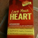 ReNew LOVE YOUR HEART advanced cardiovalsular support 180 capsules sealed