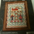 Country Sampler Counted Cross Stitch by Deco Point NEW in Package