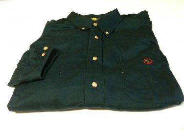 Duck Head Dark Green Classic Oxford Button Down Man's Shirt - Large NWOT