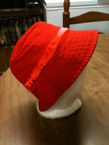 Boy Or Girl's Red Sun Hat Size 3T - EUC -MUST SEE!!!