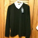 Bobbie Brooks Long Sleeve Knit Black Pullover - Size L - New with Tags - NEAT