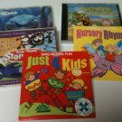 5 Kids Cds - 4 Sing-a-Long and 1 Finding Nemo CD - Good Condition