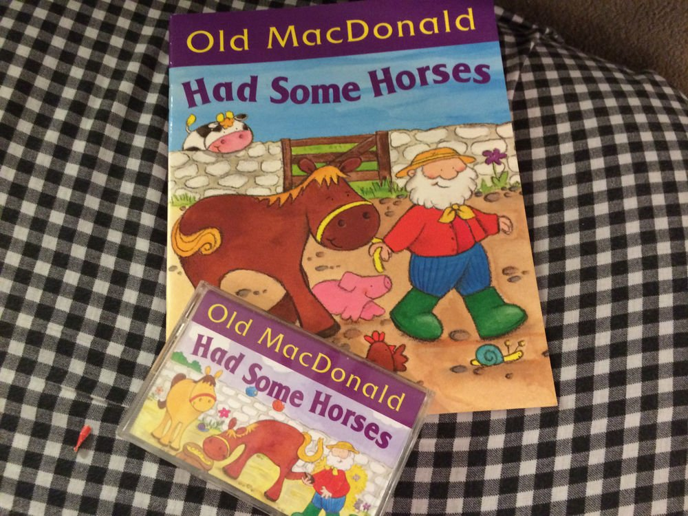 Old MacDonald Had Some Ducks, Horses, Pigs, Cows, Sheep, Book & Cassettes Pick 1